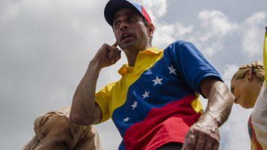 """Henrique Capriles: """"Urge una solución política negociada en Venezuela"""""""