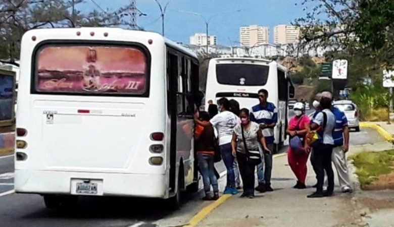 Transporte público en el estado La Guaira
