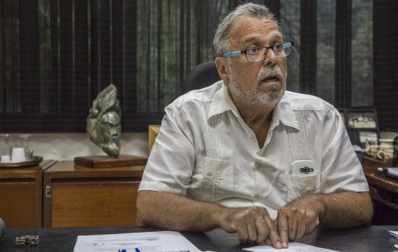 Víctor Márquez, presidente de la Asociación de Profesores de la UCV (Apucv)